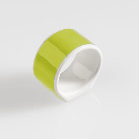 Serviettenring Solid Color Limone Dibbern