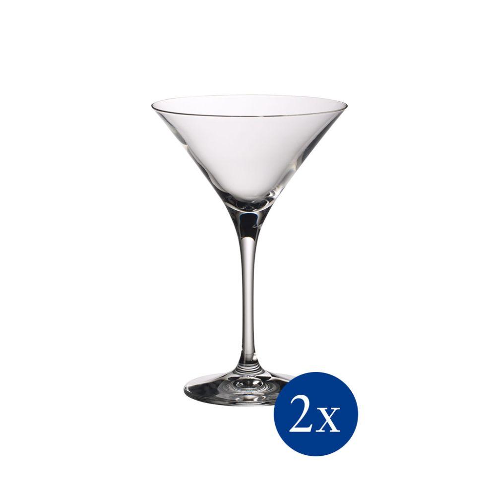 Martini-/Cocktailglas Set 2 tlg 175mm Purismo Bar Villeroy und Boch