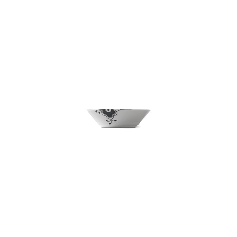 Suppenteller - 17 cm Black Fluted Mega Royal Copenhagen