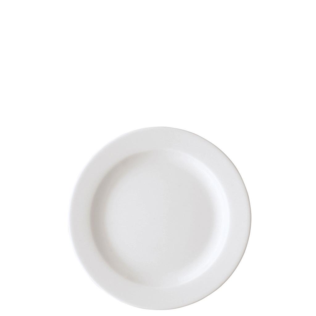 Frühstücksteller 19 cm/Fa Form 1382 Weiss Arzberg