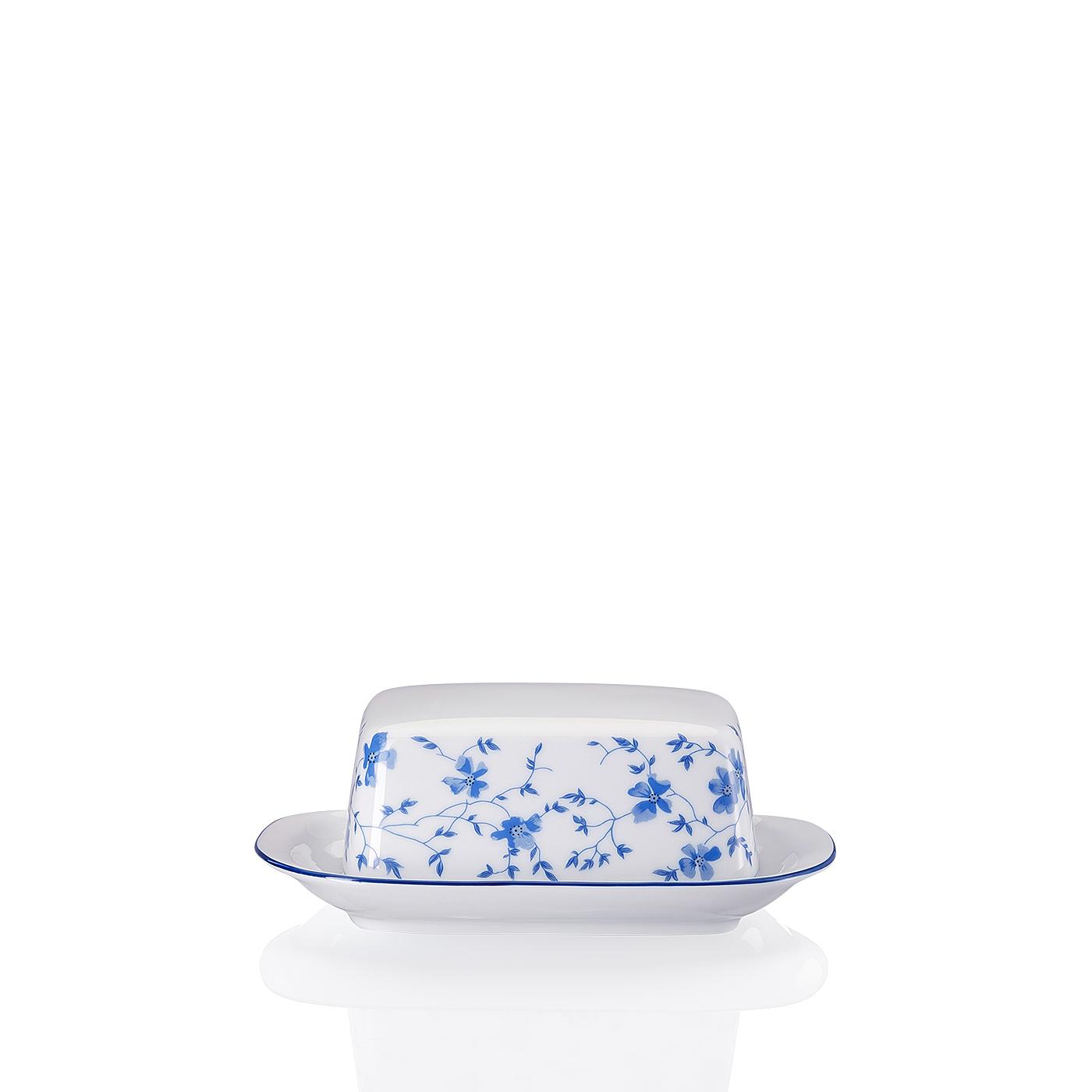 Butterdose klein Form 1382 Blaublüten Arzberg