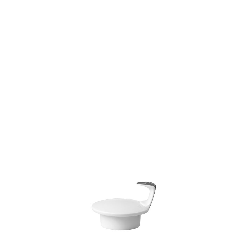 Teekanne 6 P. Deckel TAC Gropius Skin Platin Rosenthal Studio Line