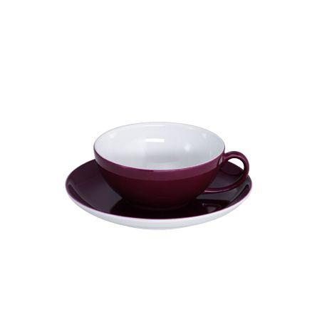 Tee-Obertasse 0,22 l Solid Color Bordeaux Dibbern
