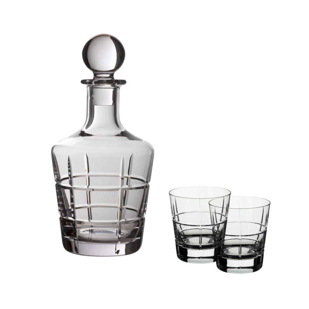 Whisky Set 3 tlg. 0,75 l / 0,320 l Ardmore Club Villeroy und Boch