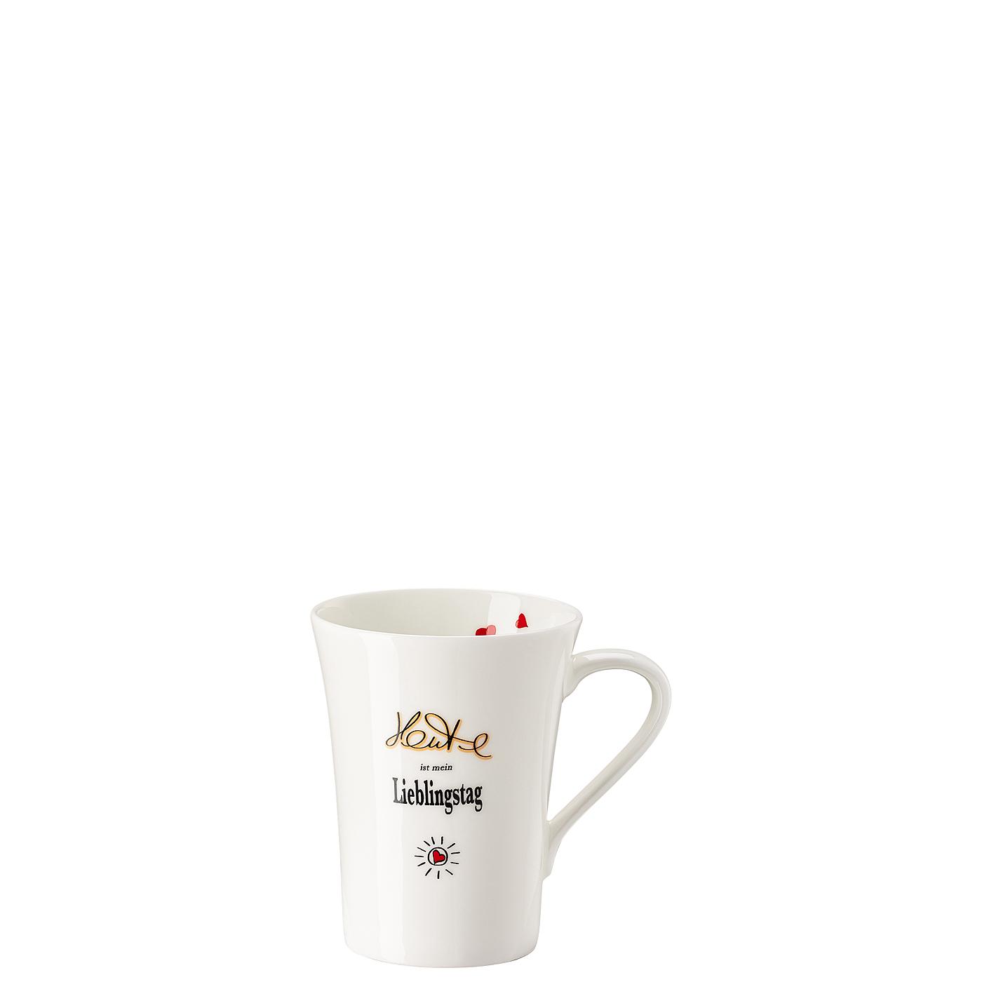 Becher mit Henkel My Mug Collection Worte - Lieblingstag Hutschenreuther