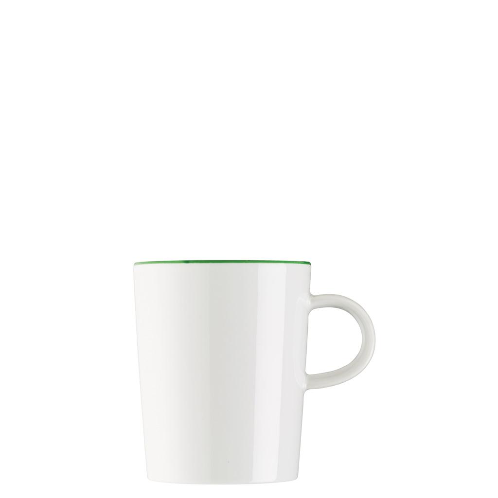 Becher mit Henkel Cucina-Basic Colori Green Arzberg