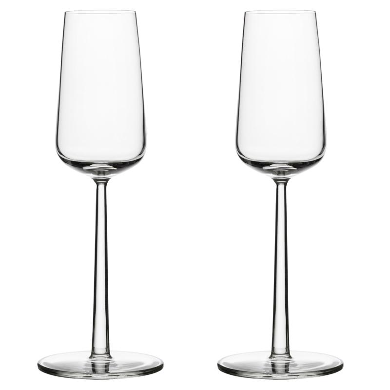Champagnerglas - 210 ml - Klar - 2 Stück Essence Iittala