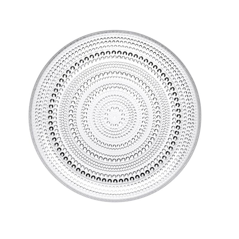 Teller – 24,8 cm - Klar Kastehelmi Iittala