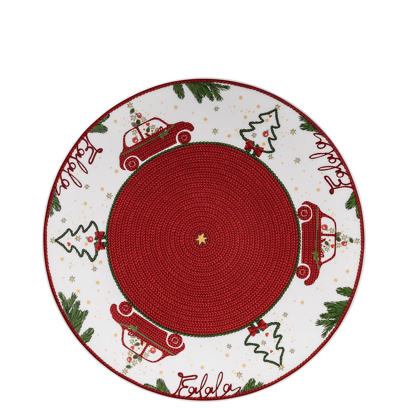 Plätzchenteller 27 cm Nora Weihnachtszeit Hutschenreuther