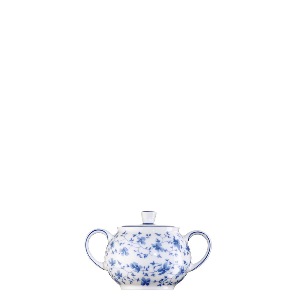 Zuckerdose 6 P. Form 1382 Blaublüten Arzberg