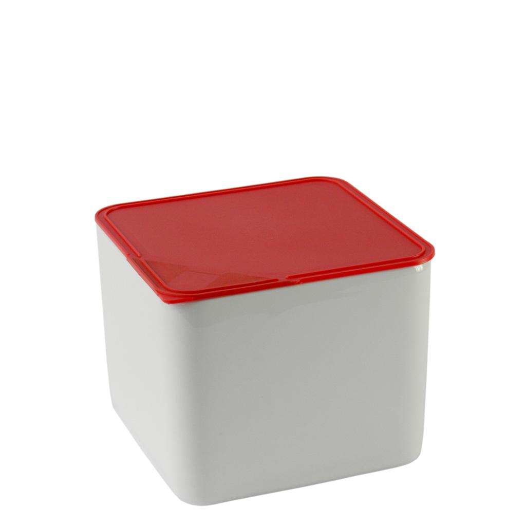 Frischebox 15x15 hoch Küchenfreunde Kunststoff rot Arzberg