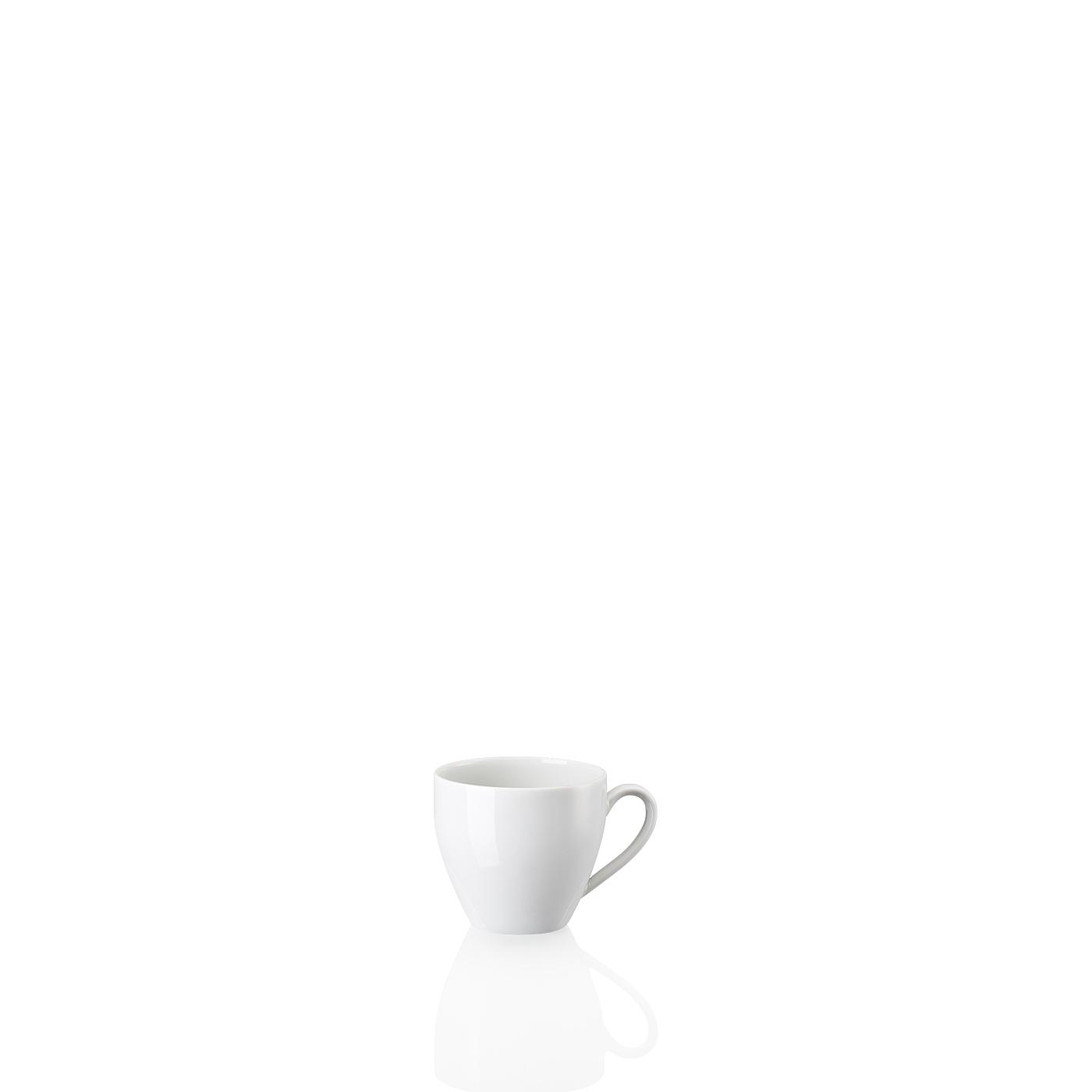 Espresso-/Mokka-Obertasse Form 2000 Weiss Arzberg