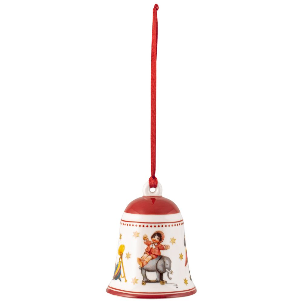 Glocke Spielzeug, rot 5,5x5,5x6,5cm My Christmas Tree Villeroy und Boch