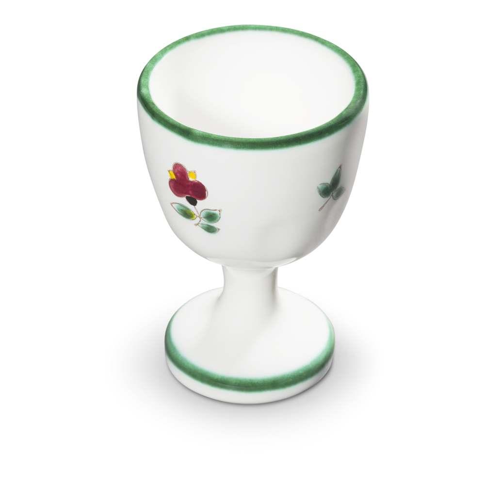 Eierbecher (H: 7,5cm) Streublumen Gmundner Keramik