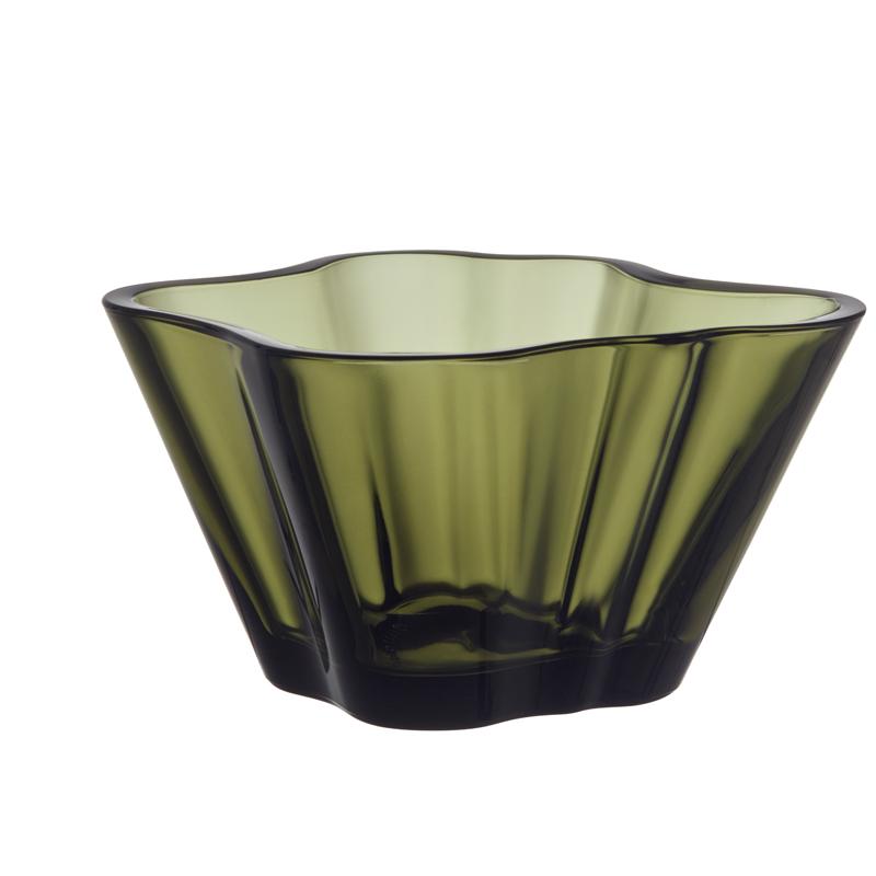 Schale – 7,5 cm – Moosgrün Aalto Iittala