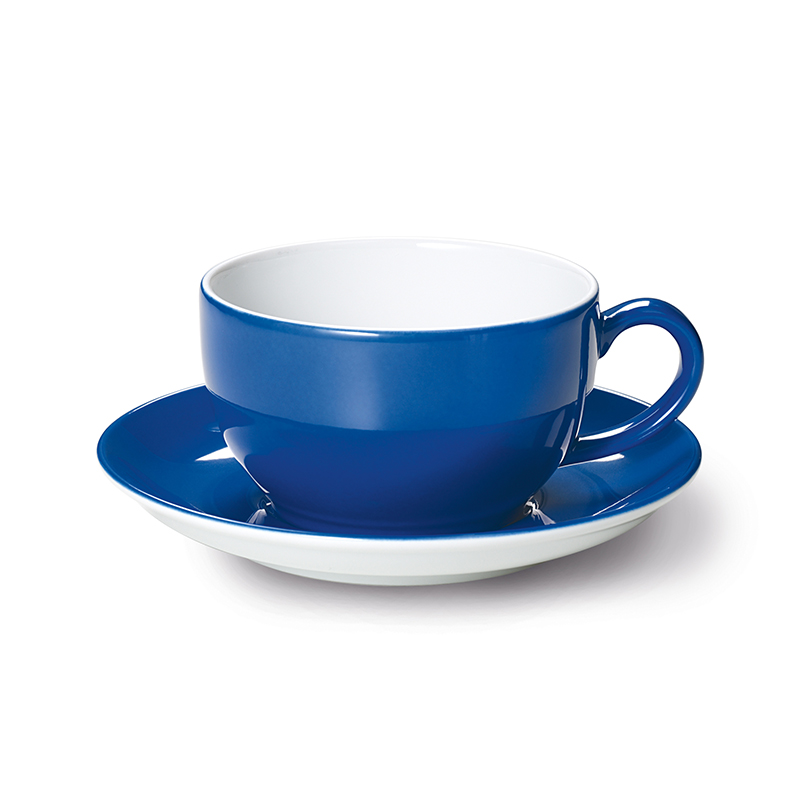 Cappuccino-Obertasse 0,30 l Solid Color Kornblume Dibbern