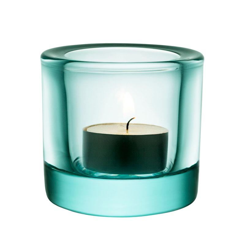 Windlicht – 6 cm – Wassergrün Kivi votives Iittala