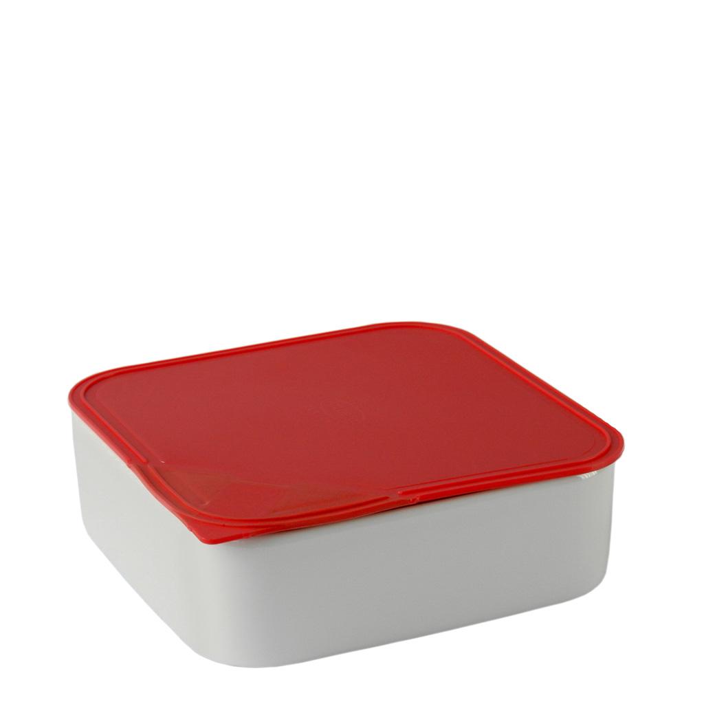Frischebox 18x18 cm Küchenfreunde Kunststoff rot Arzberg