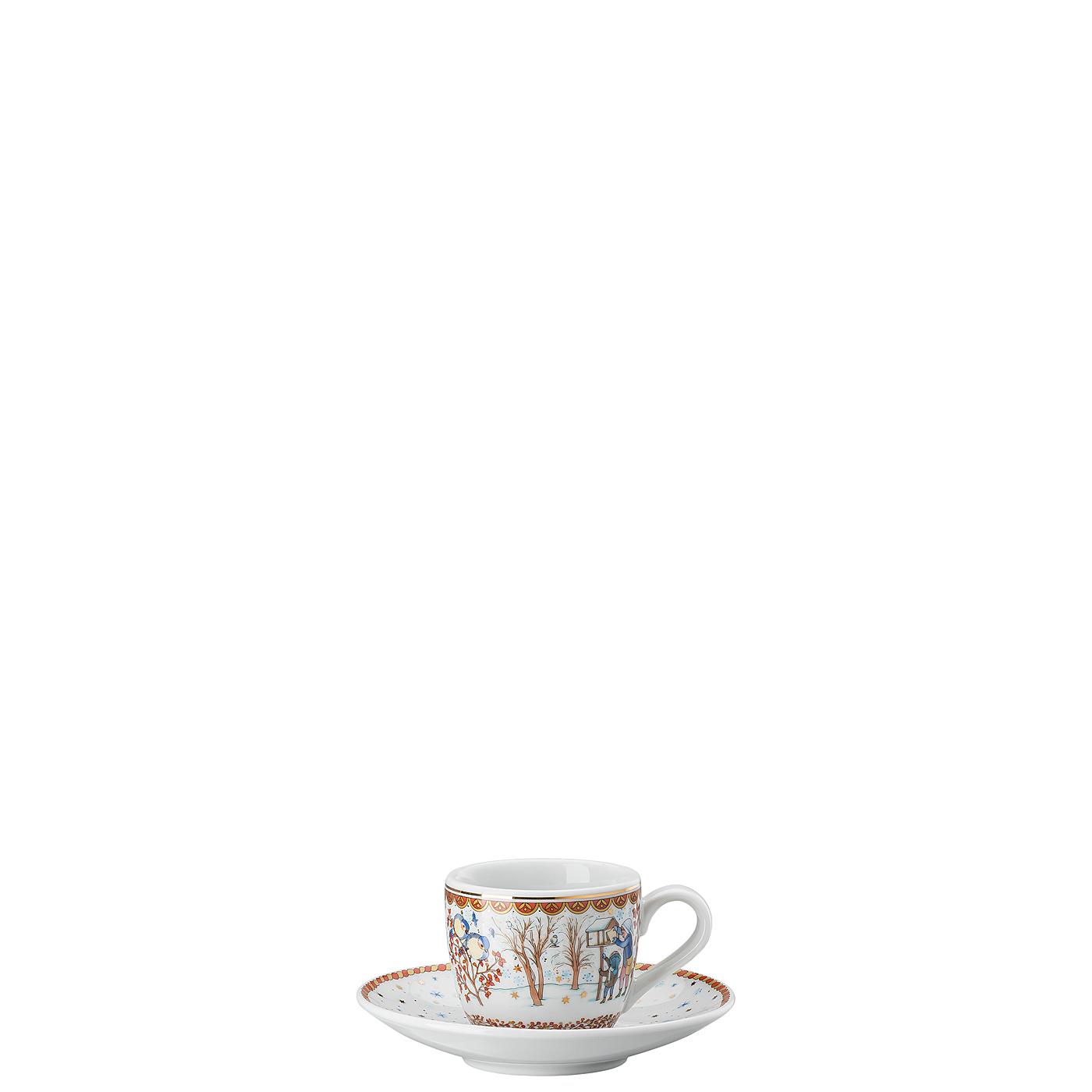 Espressotasse 2-tlg. Sammelkollektion 21 Weihnachtsgaben Hutschenreuther