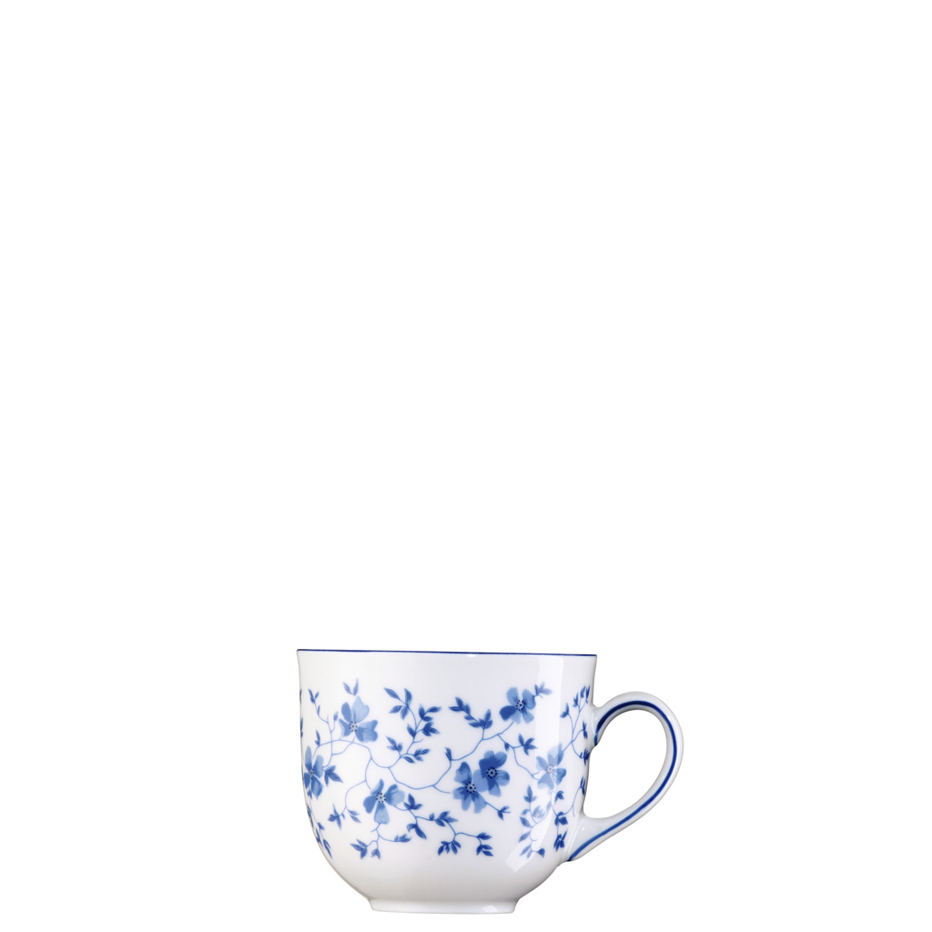 Kaffee-Obertasse Form 1382 Blaublüten Arzberg