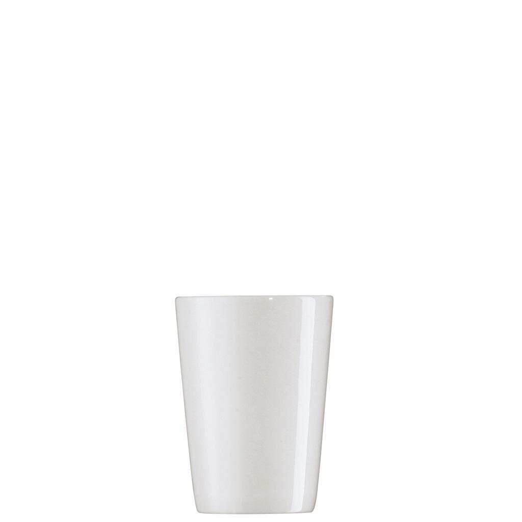 Becher ohne Henkel Form 1382 Weiss Arzberg