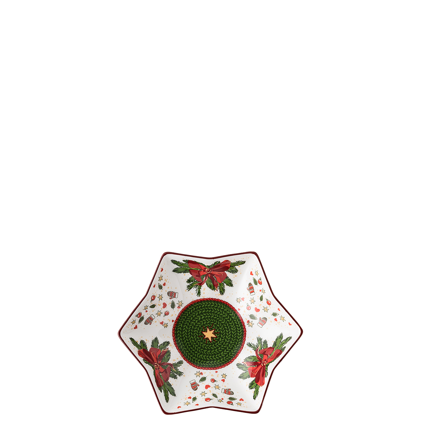 Sternschale 15 cm Nora Weihnachtszeit Hutschenreuther