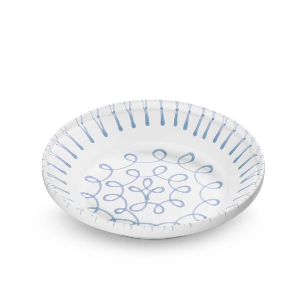 Reifschüssel (Ø 28cm) Blaugeflammt Gmundner Keramik