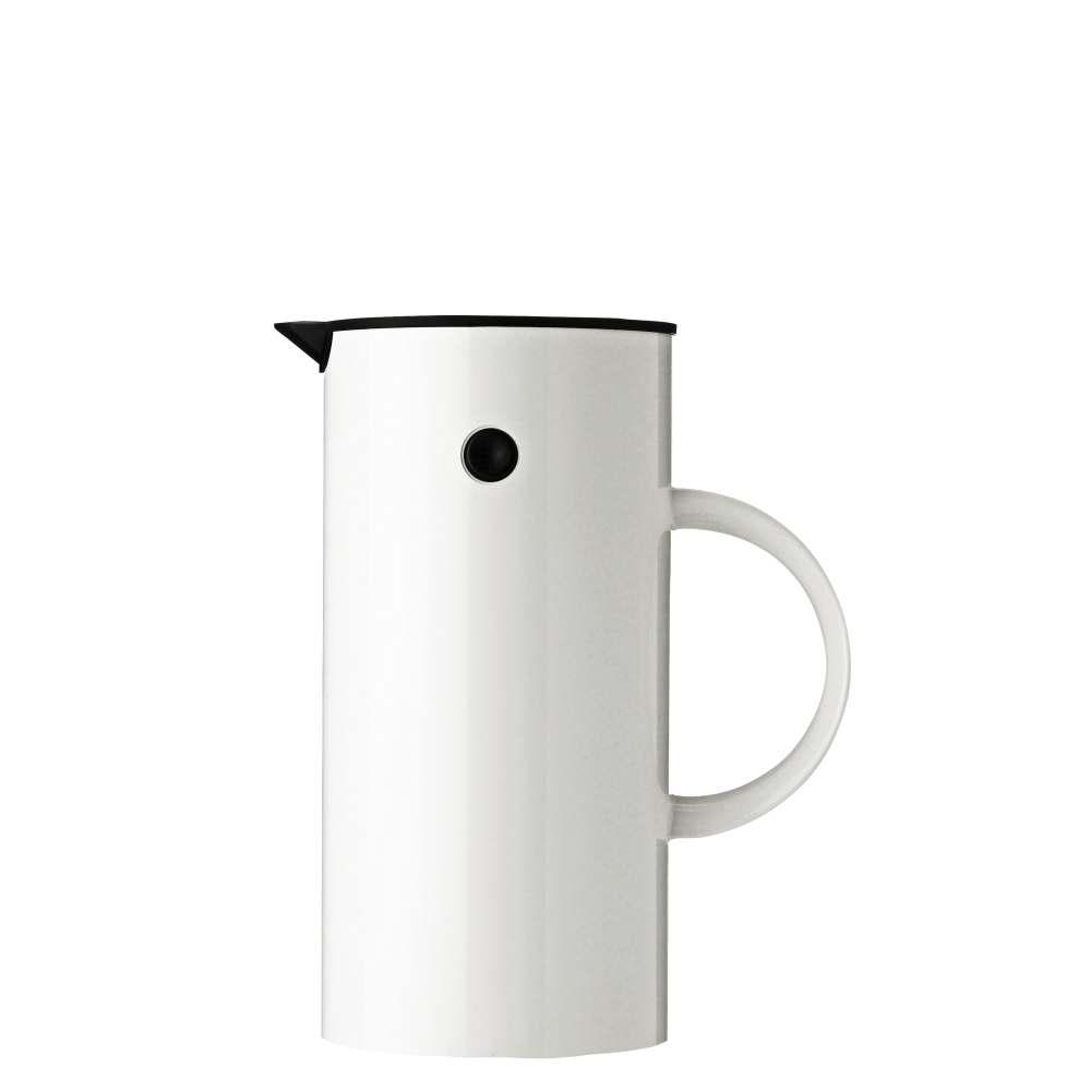 Isolierkanne, 0,5 l. EM77 White Stelton