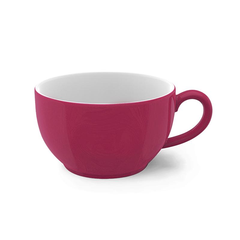 Cappuccino-Obertasse 0,30 l Solid Color Himbeere Dibbern