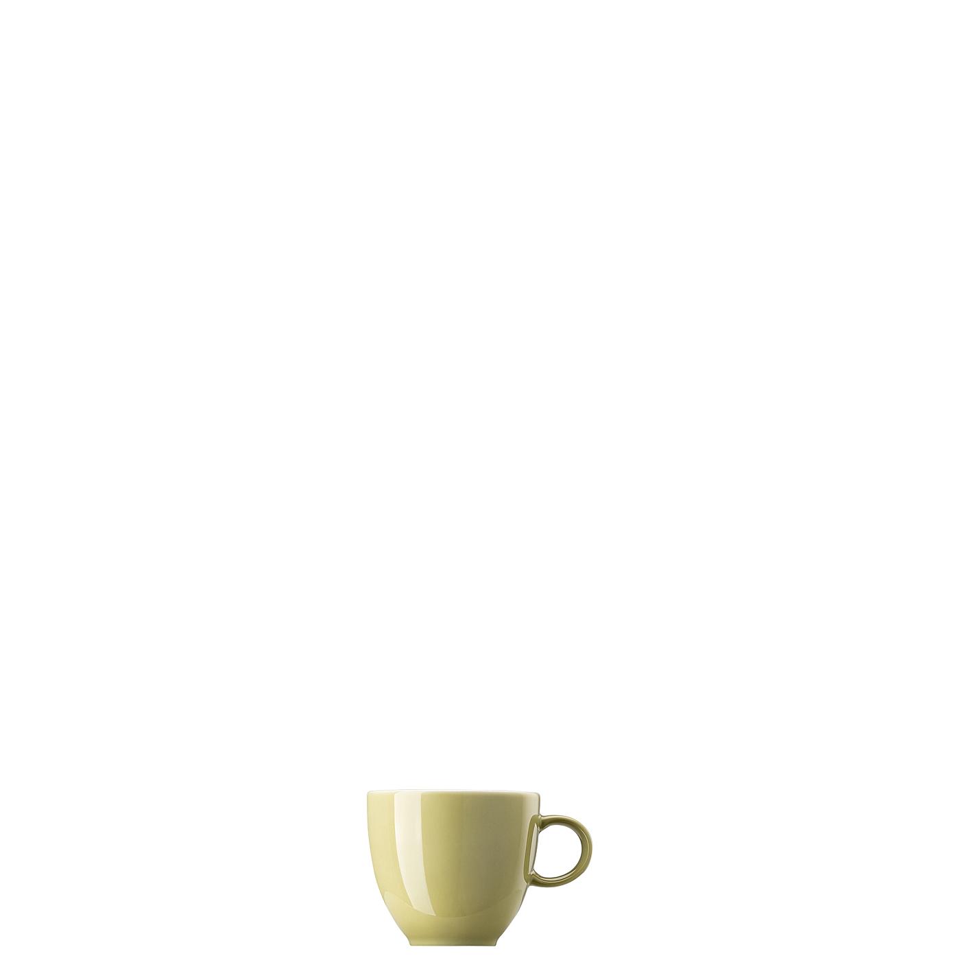 Espresso-/Mokka-Obertasse Sunny Day Avocado Green Thomas Porzellan