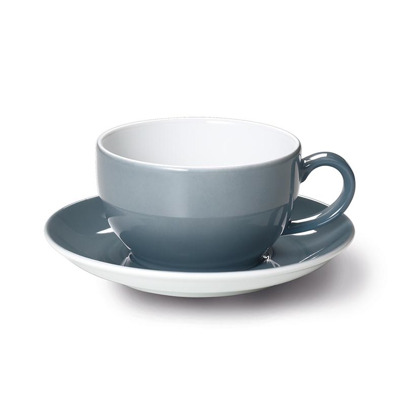Cappuccino-Obertasse 0,30 l Solid Color Grau Dibbern