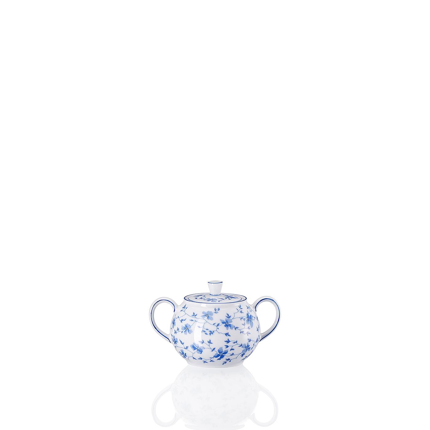 Zuckerdose 2 P. Form 1382 Blaublüten Arzberg