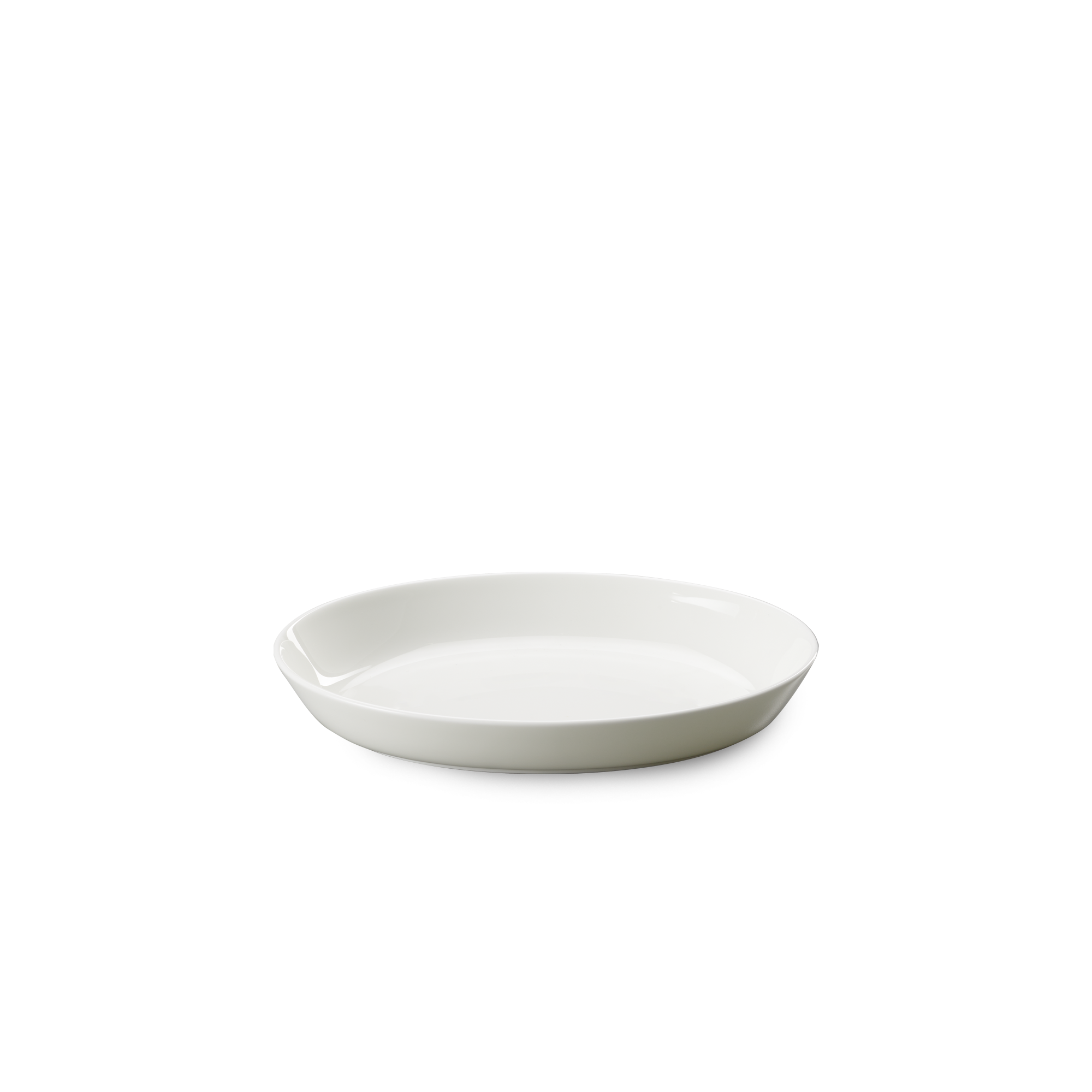 Auflaufform oval 18x15x3 cm Fine Bone China Weiss Dibbern