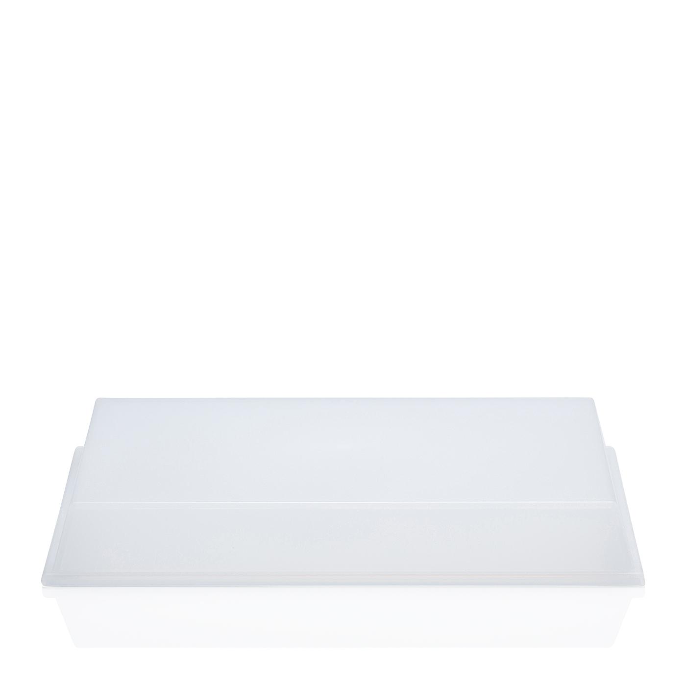 Cloche für Servierplatte 21x33 cm Tric Kunststoff transparent Arzberg