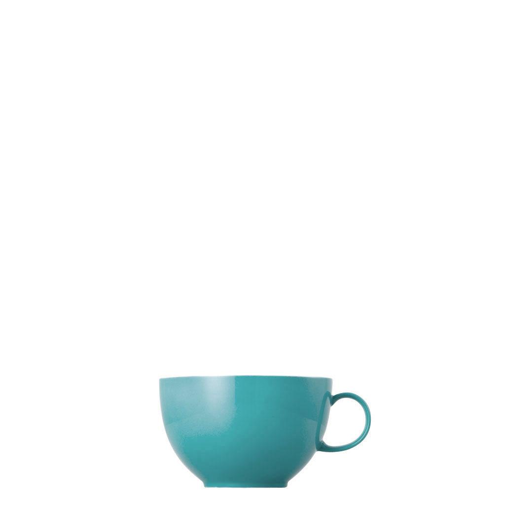 Jumbo-Obertasse Sunny Day Turquoise Thomas Porzellan