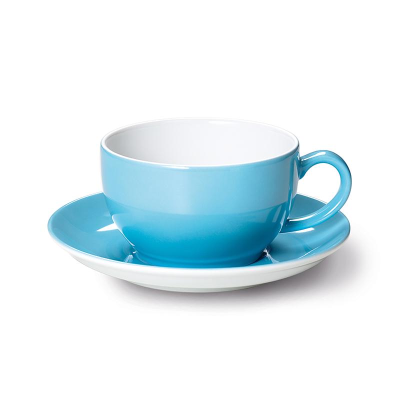 Cappuccino-Obertasse 0,30 l Solid Color Hellblau Dibbern