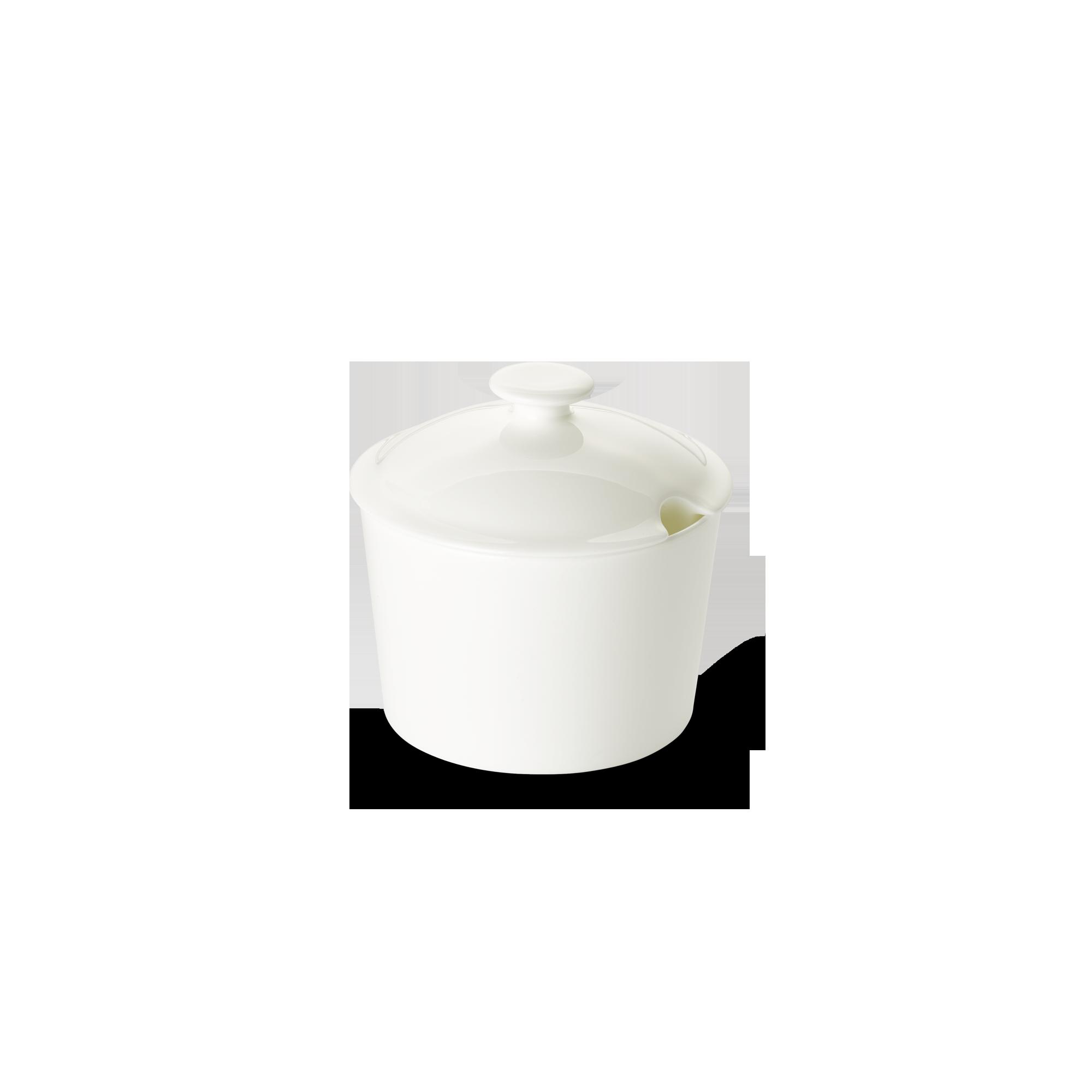 Deckel für Zuckerdose Konisch 0,24 l Fine Bone China Konisch-Zylindrisch Weiss Dibbern