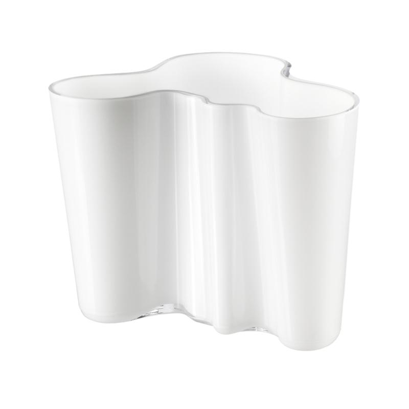 Vase – 16 cm - OpalWeiss Aalto Iittala