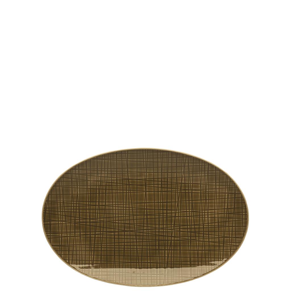 Platte 25 cm Mesh Colours Walnut Rosenthal