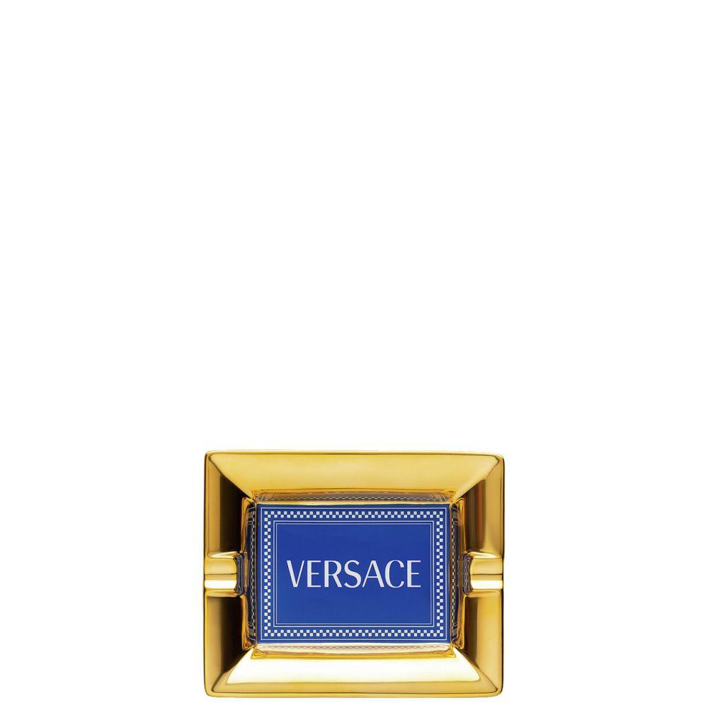 Ascher 13 cm Versace Medusa Rhapsody Blue Versace by Rosenthal