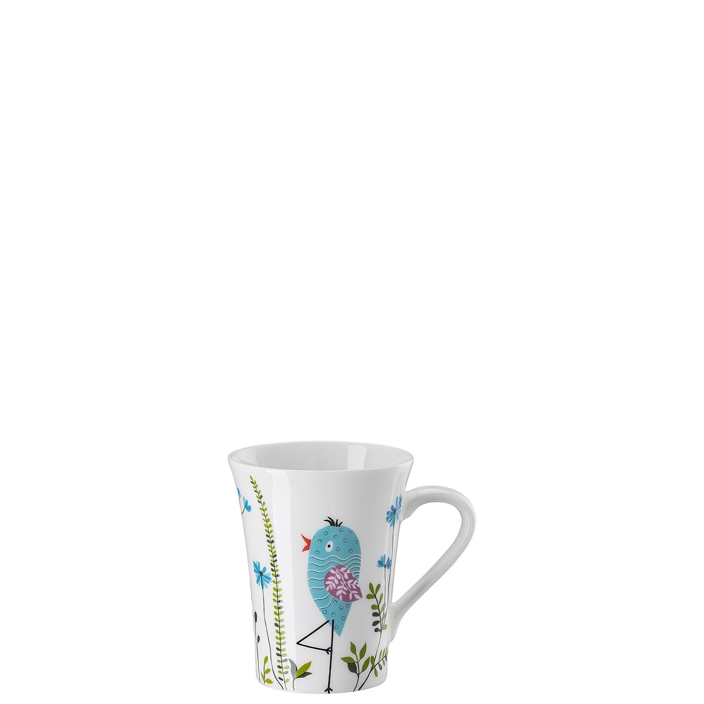 Becher mit Henkel My Mug Collection Birdie - Blue Hutschenreuther