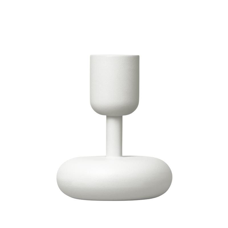 Kerzenständer – 10,7 cm - Weiss Nappula Iittala