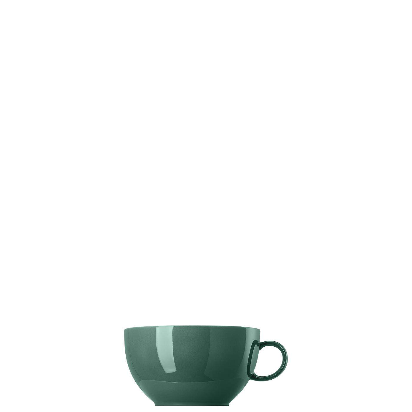 Cappuccino-Obertasse Sunny Day Herbal Green Thomas Porzellan