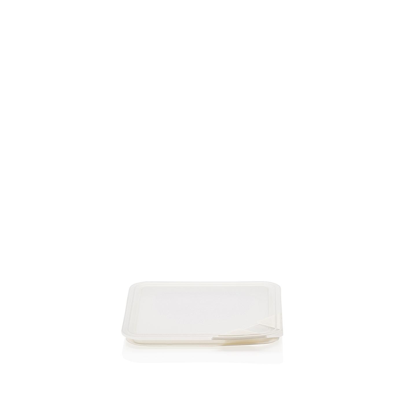 Aromadeckel quadratisch 15 cm Küchenfreunde Kunststoff transparent Arzberg