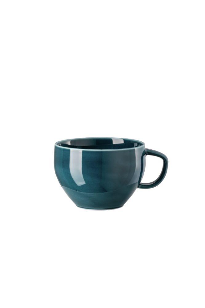 Café au Lait Obertasse Junto Ocean Blue Rosenthal