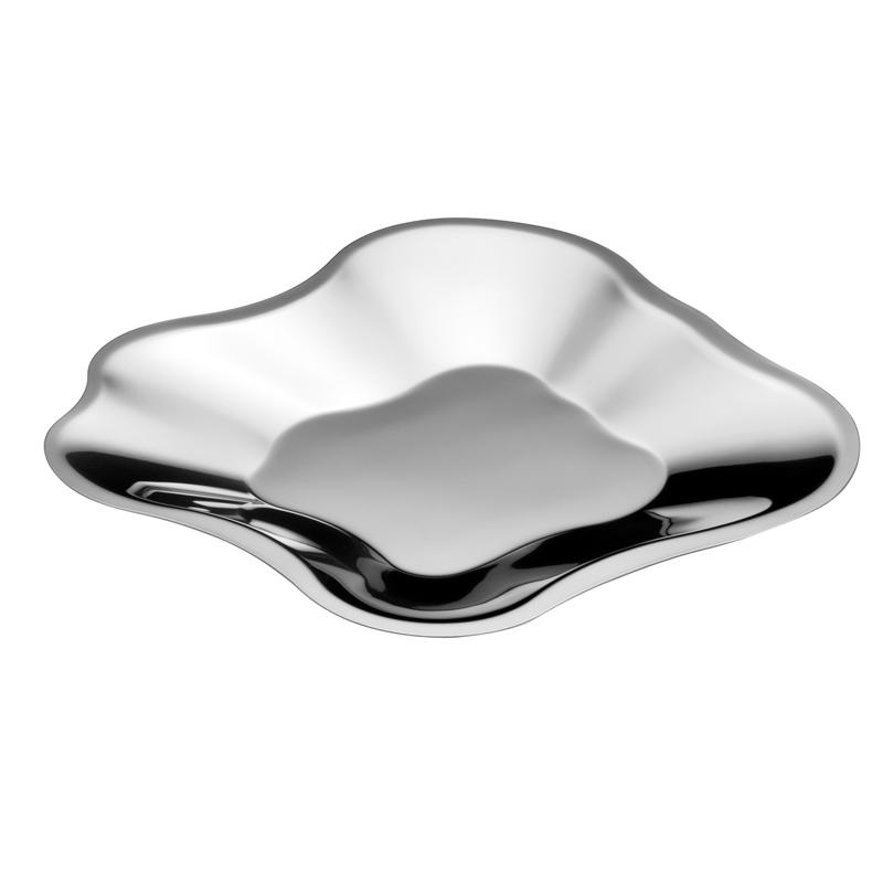 Schale – 35,8 cm - Edelstahl Aalto Iittala