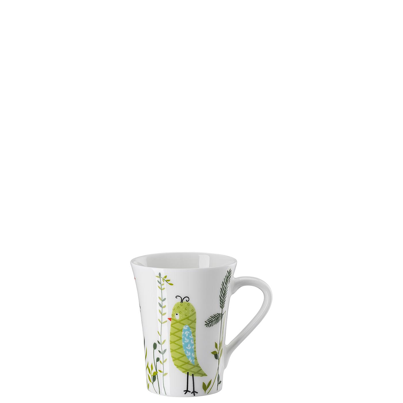 Becher mit Henkel My Mug Collection Birdie - Green Hutschenreuther