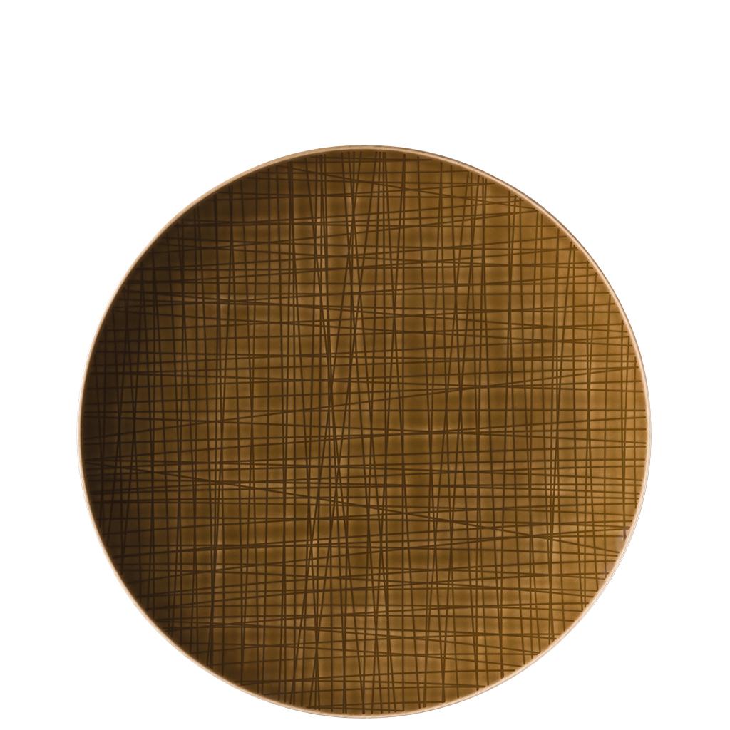 Teller flach 27 cm Mesh Colours Walnut Rosenthal