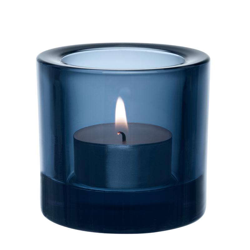 Windlicht – 6 cm - Regenblau Kivi votives Iittala