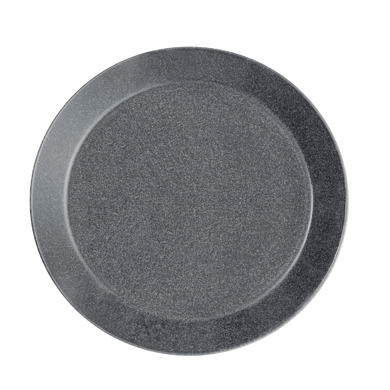 Teller - 17 cm - Duo grau Teema dotted grey Iittala